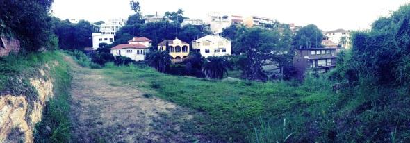 The land I landed on.